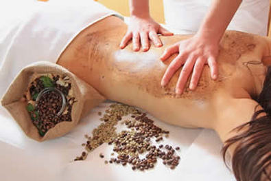 meridianbodycare.com Organic Spa Scrubs & Facials at The Meridian Touch Body Care Hervey Bay